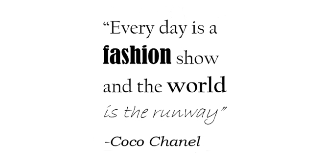 Fashion Quote Of January