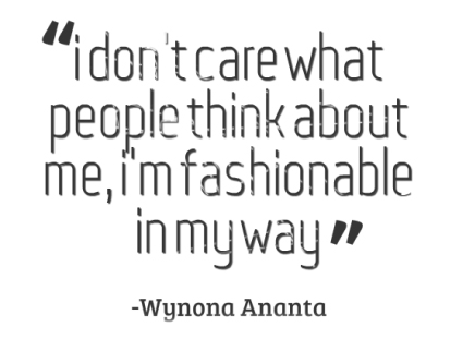 Fashion Quote For March
