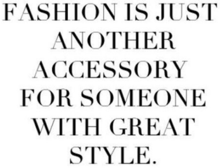 fashion quote of May