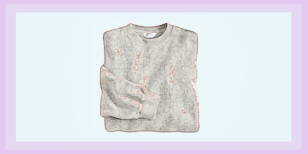 sweater pills