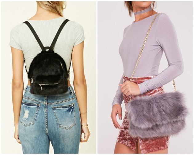 Fur bag trend