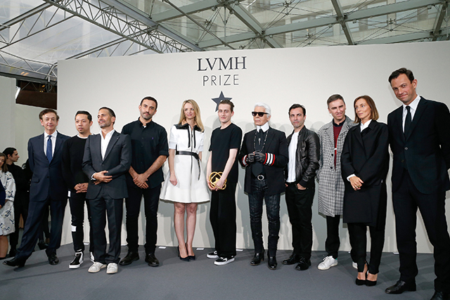 'LVMH Young Fashion Designers Prize' : Winner Announcement In Paris